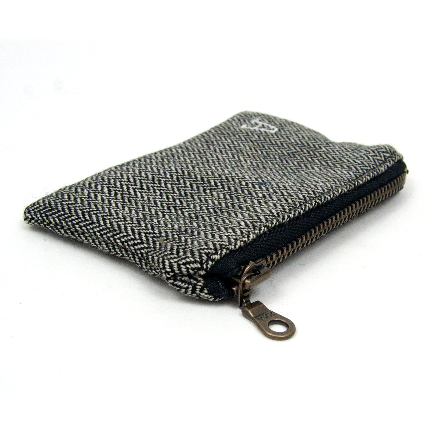Personalized Coin Purse - Herringbone