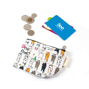 Hang in There Cats - Coin Purse