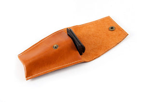 Safety Razor Case - Cognac