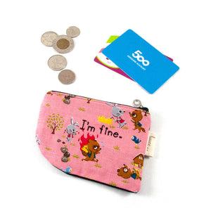 I'm Fine Raccoon - Coin Purse
