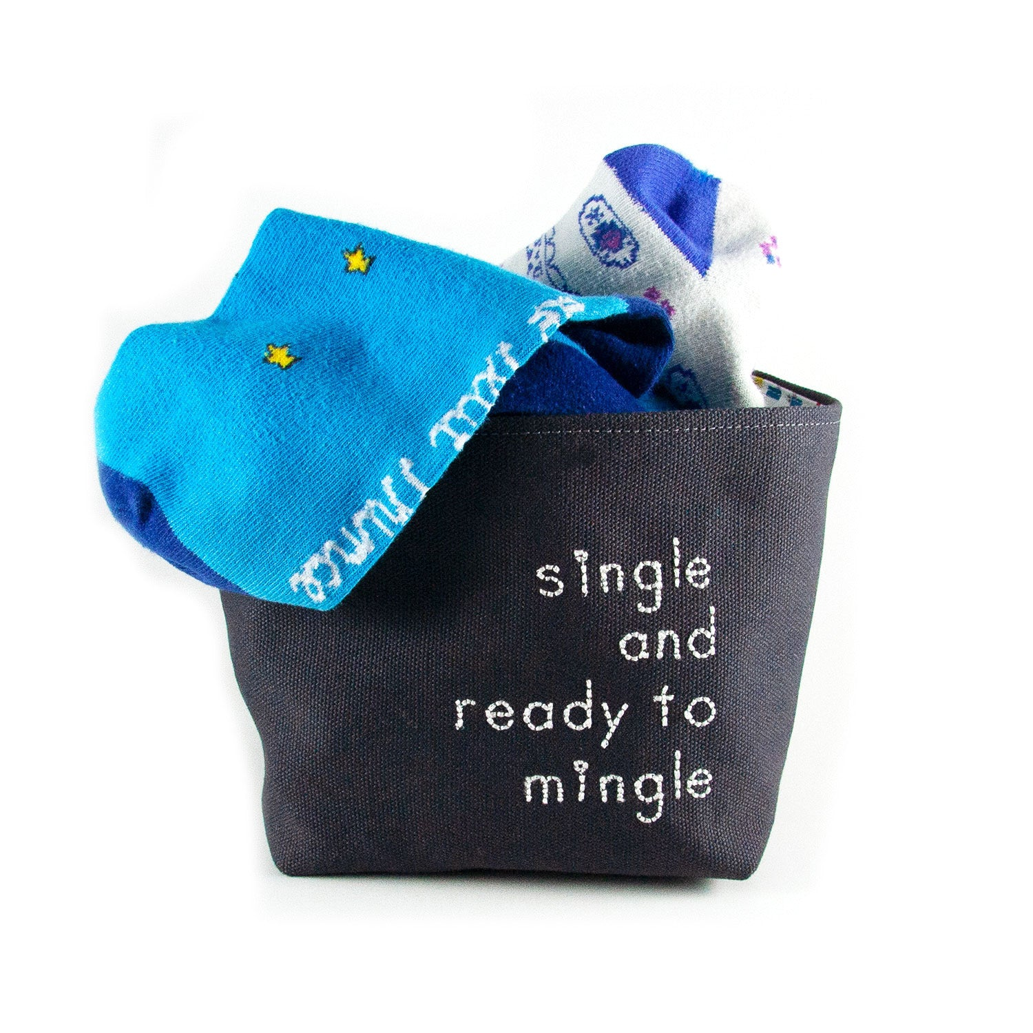 Single and Ready to Mingle Basket