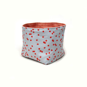 Sparks of Joy Basket - Coral