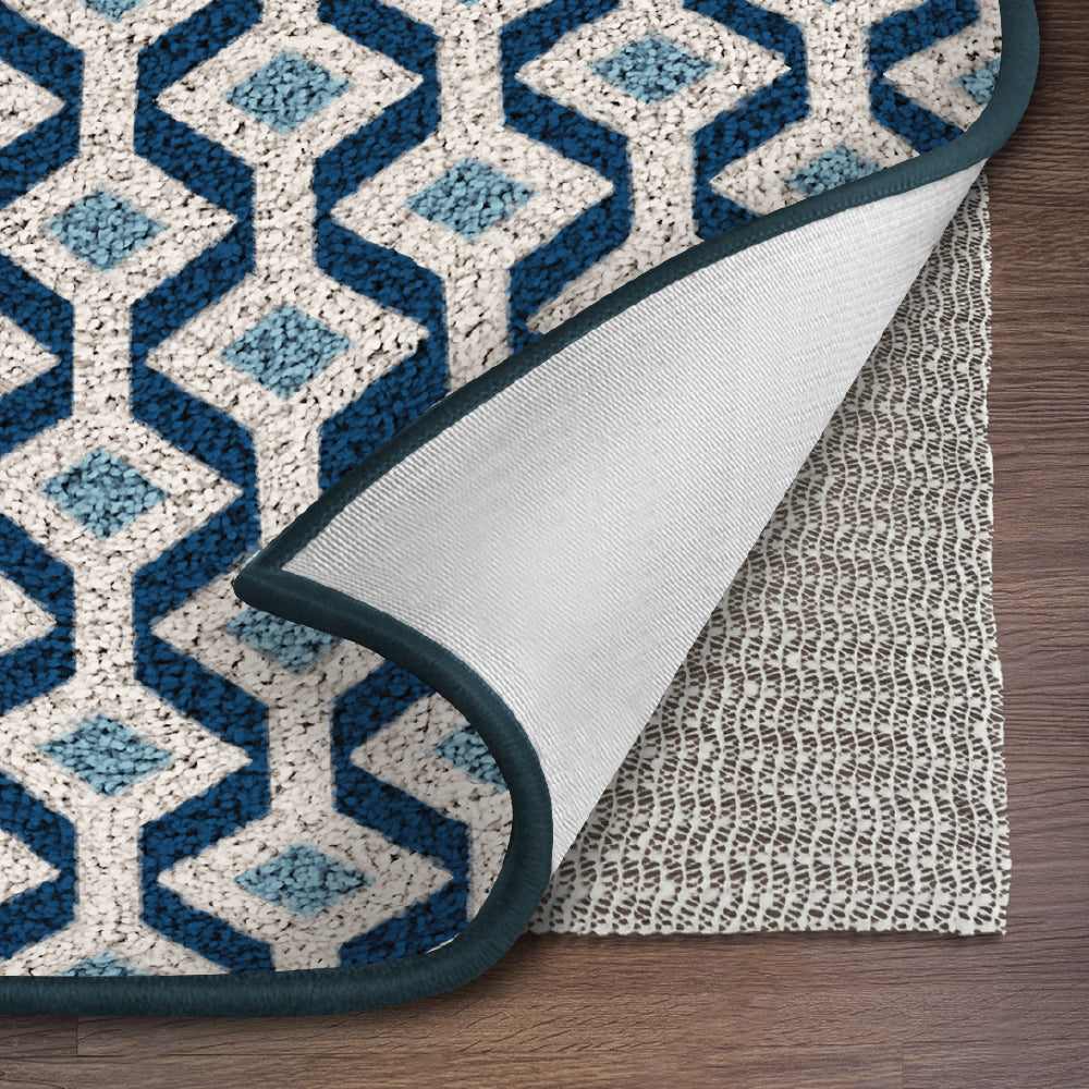 Made in USA The Original GORILLA GRIP Non-Slip Area Rug Pad /& Mattress Gripper for Hard Floors 4 x 6 Available in Many Sizes