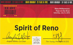 spirit of reno award