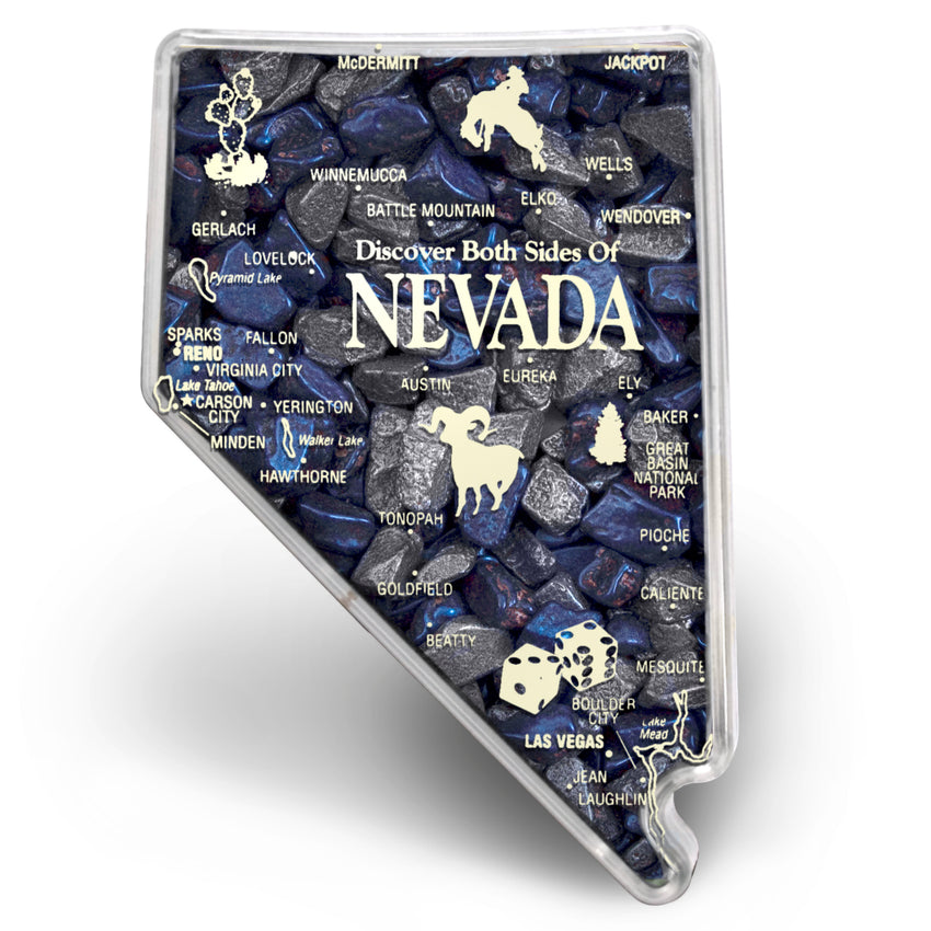 Nevada Container ChocoRocks® Nevada Mix (Silver and Topaz) 9 oz.