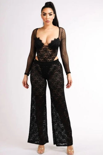 Black Lace Pants (Pants only)