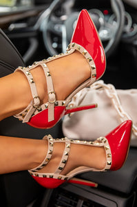 Cherry Pumps - Red (Pumps only)