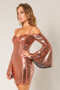 Savannah Sequin Dress