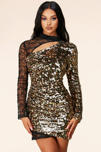 Penelope Sequin Dress
