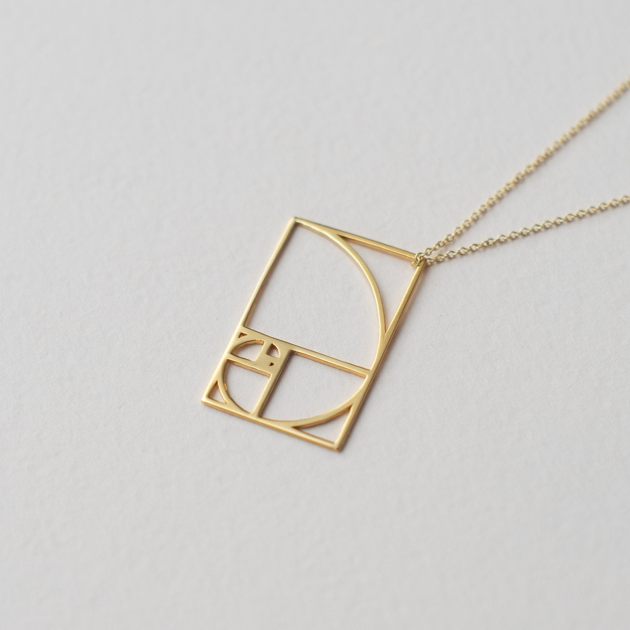 Golden Ratio in Gold