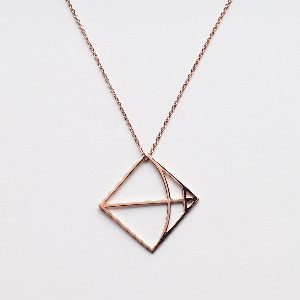 Sagittarius in Rose Gold