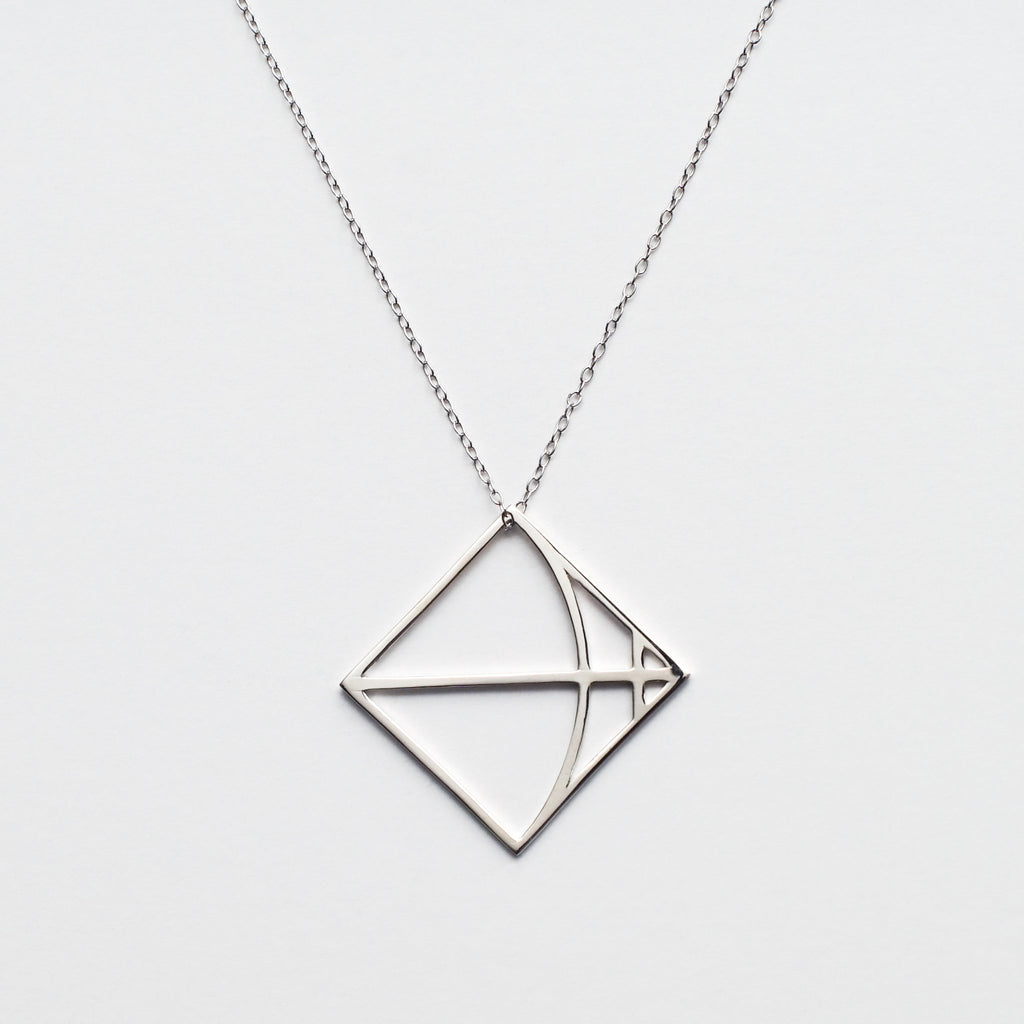 Sagittarius in Sterling Silver