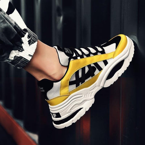 VITRU Amber - Stylish Breathable Mesh Sneakers