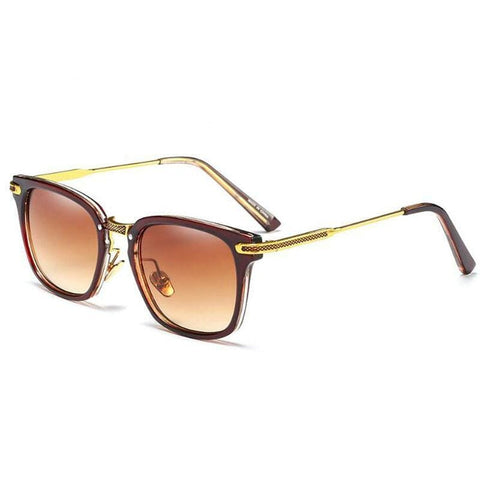 Vantage -  Classic Metal Square Sunglasses