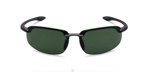 Ambition - Classic Rimless All around Men's Sunglasses with Ultralight Frame