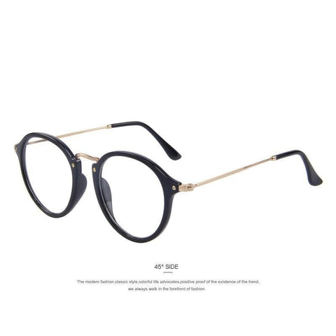 Exhibitionist - Retro Clear Lens Sunglasses
