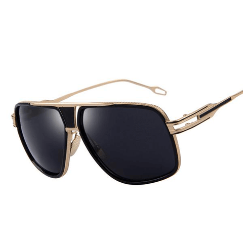 Belvue - Big Frame Style Sunglasses