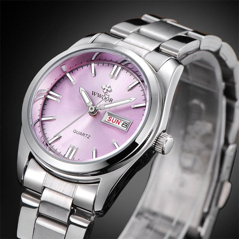 Women's Luxury Business Watch with Stainless Steel Strap