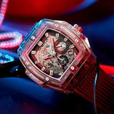 Excell - Luxury Transparent Square Watch