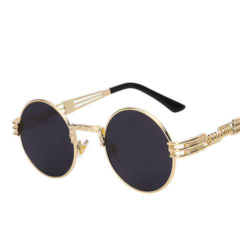 Debut -  Retro Steampunk Sunglasses