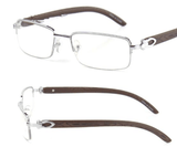 Dour - Vintage Clear Lens Eye Glasses