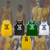THE FRESH PRINCE OF BEL-AIR - SMITH - #14 BEL-AIR ACADEMY BASKETBALL JERSEY
