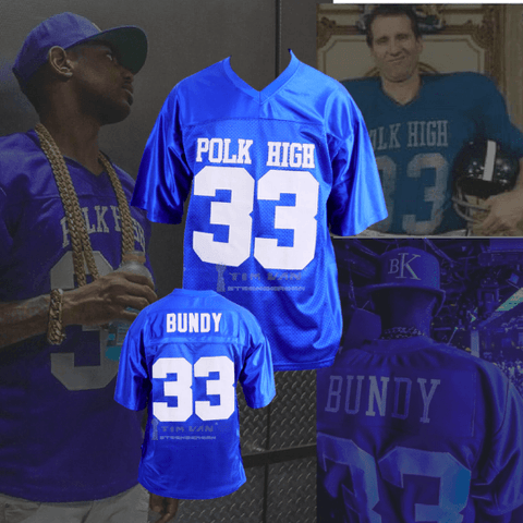 MARRIED WITH CHILDREN - AL BUNDY #33 POLK HIGH FOOTBALL JERSEY