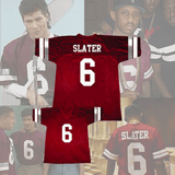 SAVED BY THE BELL - AC SLATER #6 BAYSIDE FOOTBALL JERSEY