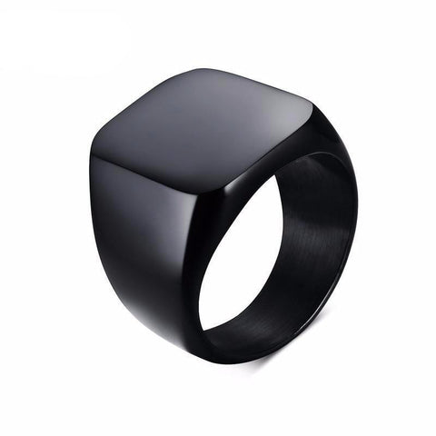 Black Rock Punk Rings