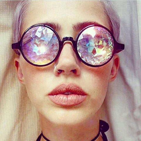 Wildflower - Kaleidoscope Circle Sunglasses