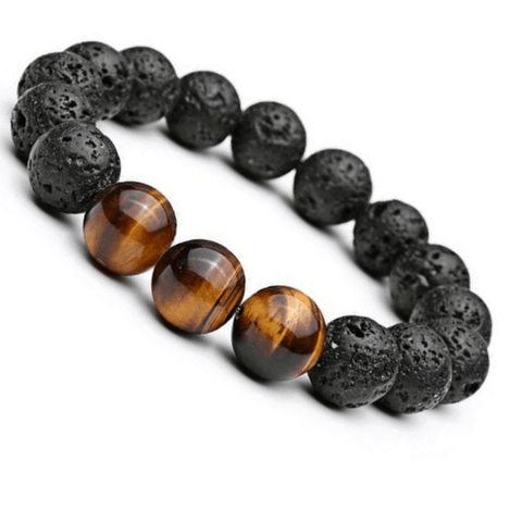 Tiger Eye Natural Stone Beads Bracelet