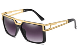 BELFORD - Retro Square Frame Sunglasses