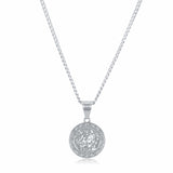 Medusa Pendant Necklace (Silver)