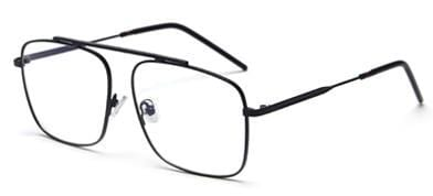 Shay - Oversize Square Flat Top Stylish Eyeglasses