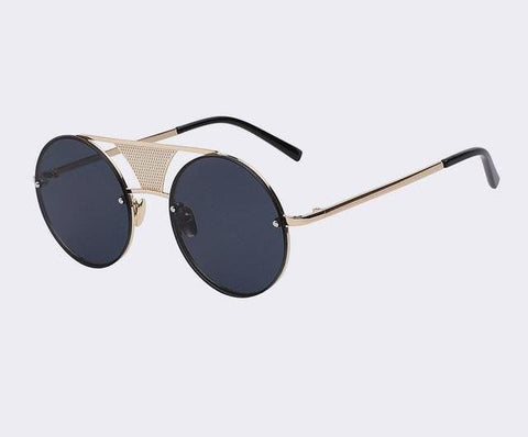 The Musician - Round Metal Sunglasses