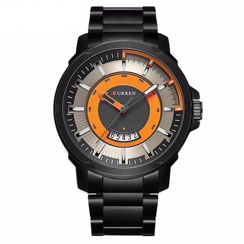 Army Sports Watch with 3D Stereo Dial