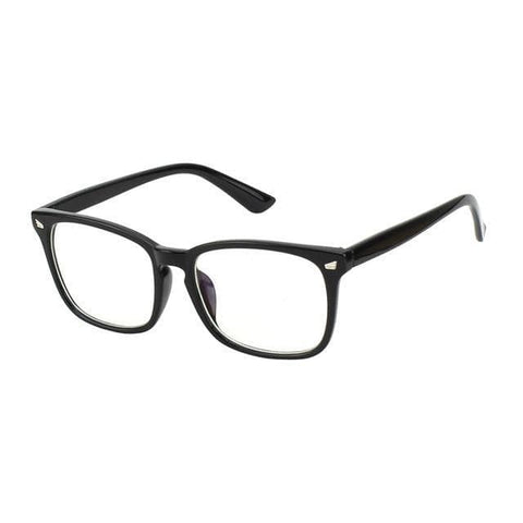 Hardwire - Vintage Square Frame with Clear lens Computer Glasses