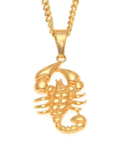 Gold Scorpion Chain Vitru