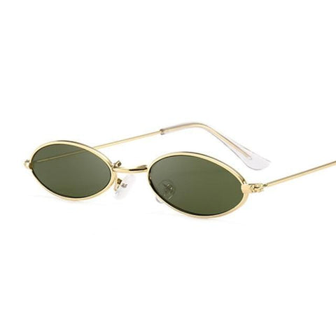 Quaint - Retro Small HipHop Oval Luxury Sunglasses