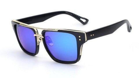 Flash -  Vintage Rectangle Sunglasses