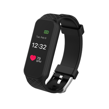 HR Fitness Tracker Watch