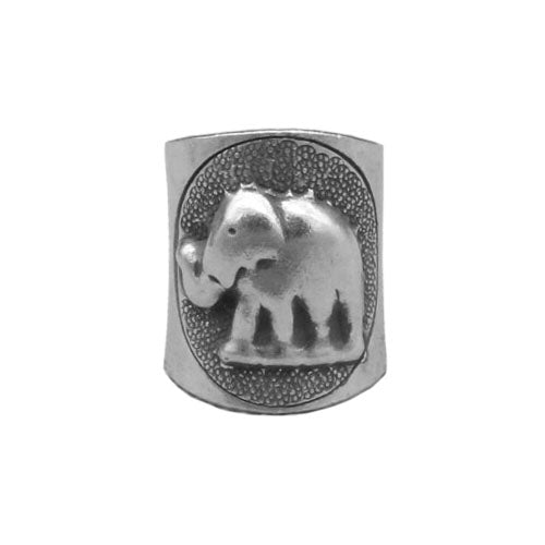 Elephant Cuff Ring Solid 925 Sterling Silver -  - Seasalt and Summits