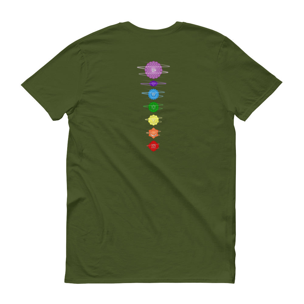 Chakra Energy Swirls Tee - Back -  - Seasalt and Summits