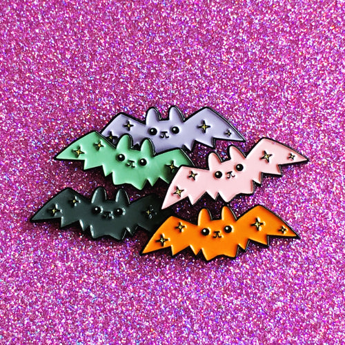Cloud of Bats Pins (x5) - OhYouFox