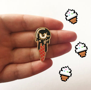 Eye-scream Pin - OhYouFox