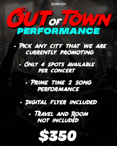 #LouMuzikLive | Out Of Town Performance | Hip Hop