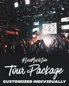 #LouMuzikLive | Customized Tour Package | Hip Hop