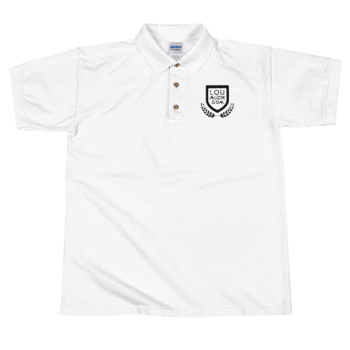 LouMuzik Embroidered Polo Shirt