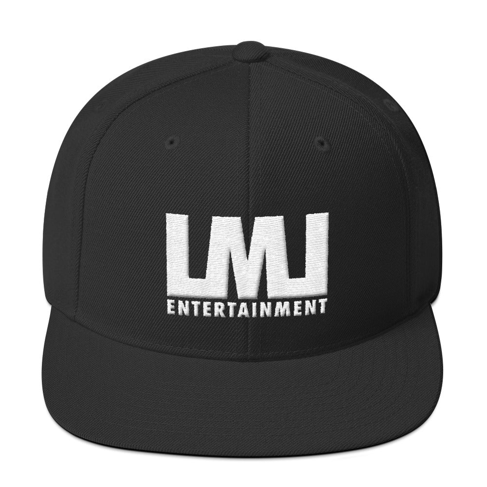 LML Entertainment 3D Puff Embroidery Snapback Hat