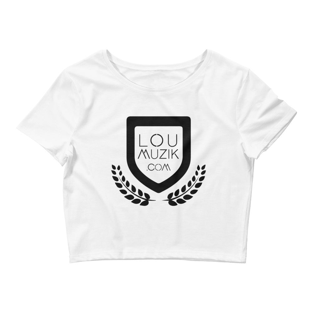 LouMuzik Women's Crop Tee